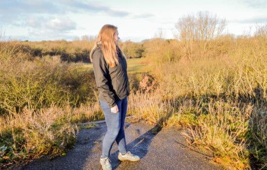 Wandelen waterafstotende jas van the North Face - Happy Hikers