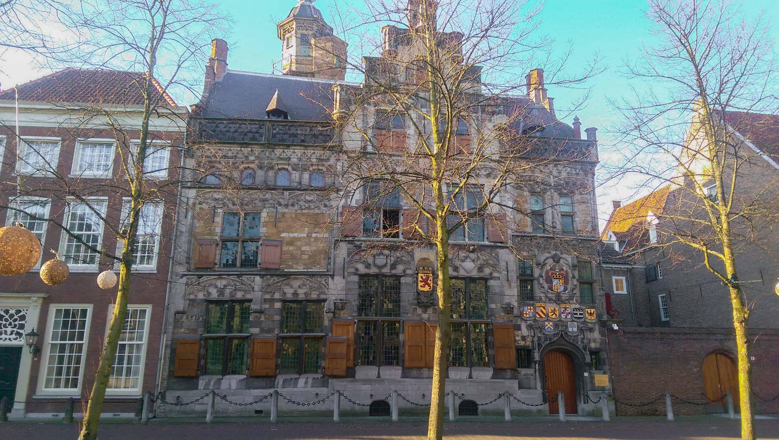 Het gemeenlandshuis van Delft - Happy Hikers