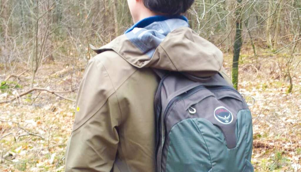 Eelco met rugtas - Happy Hikers
