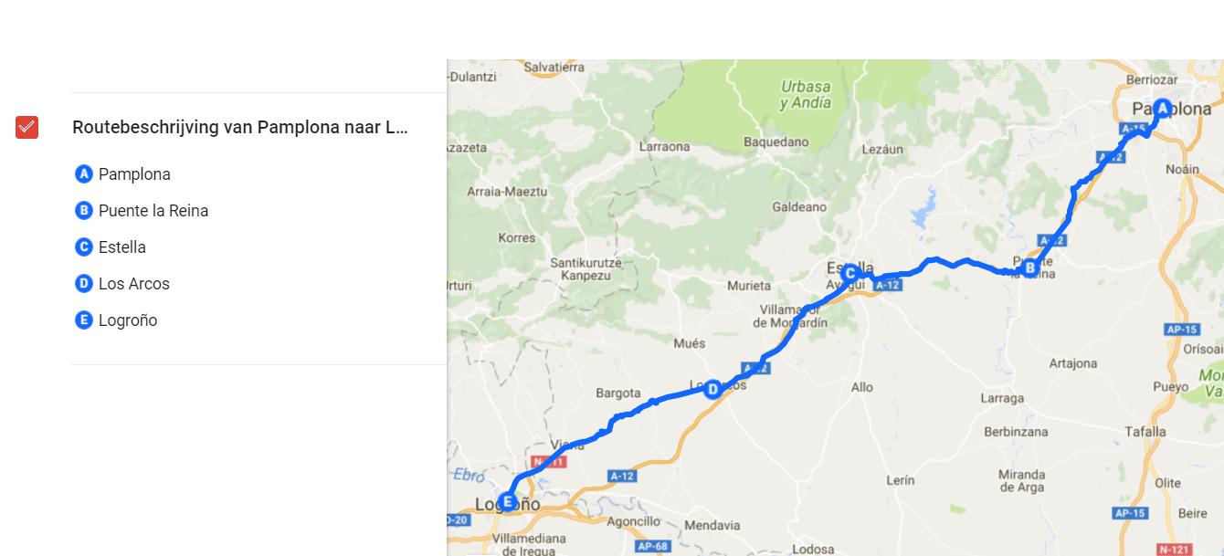 Camino de Santiago - Camino Francés: Pamplona naar Logroño - Happy Hikers