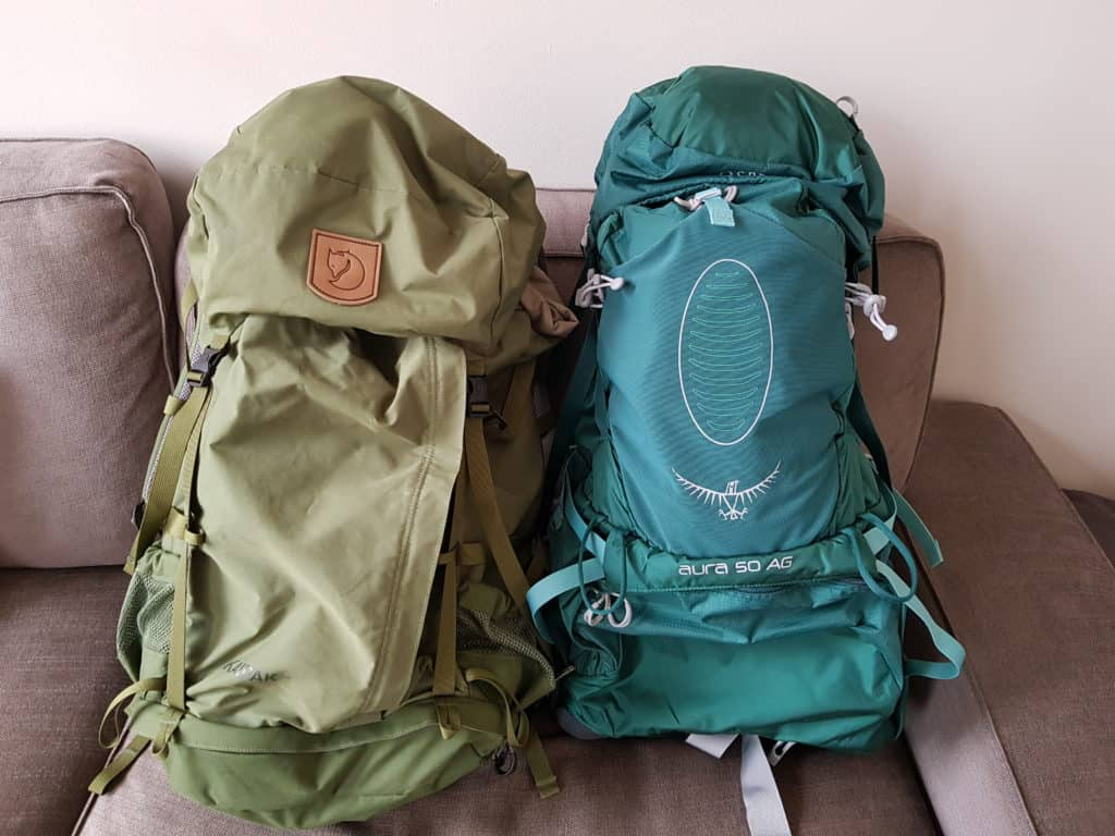 Backpacks lange afstandswandelingen - Happy Hikers