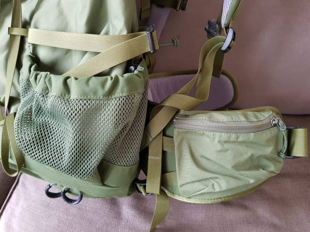 Handige vakken backpack - Happy Hikers