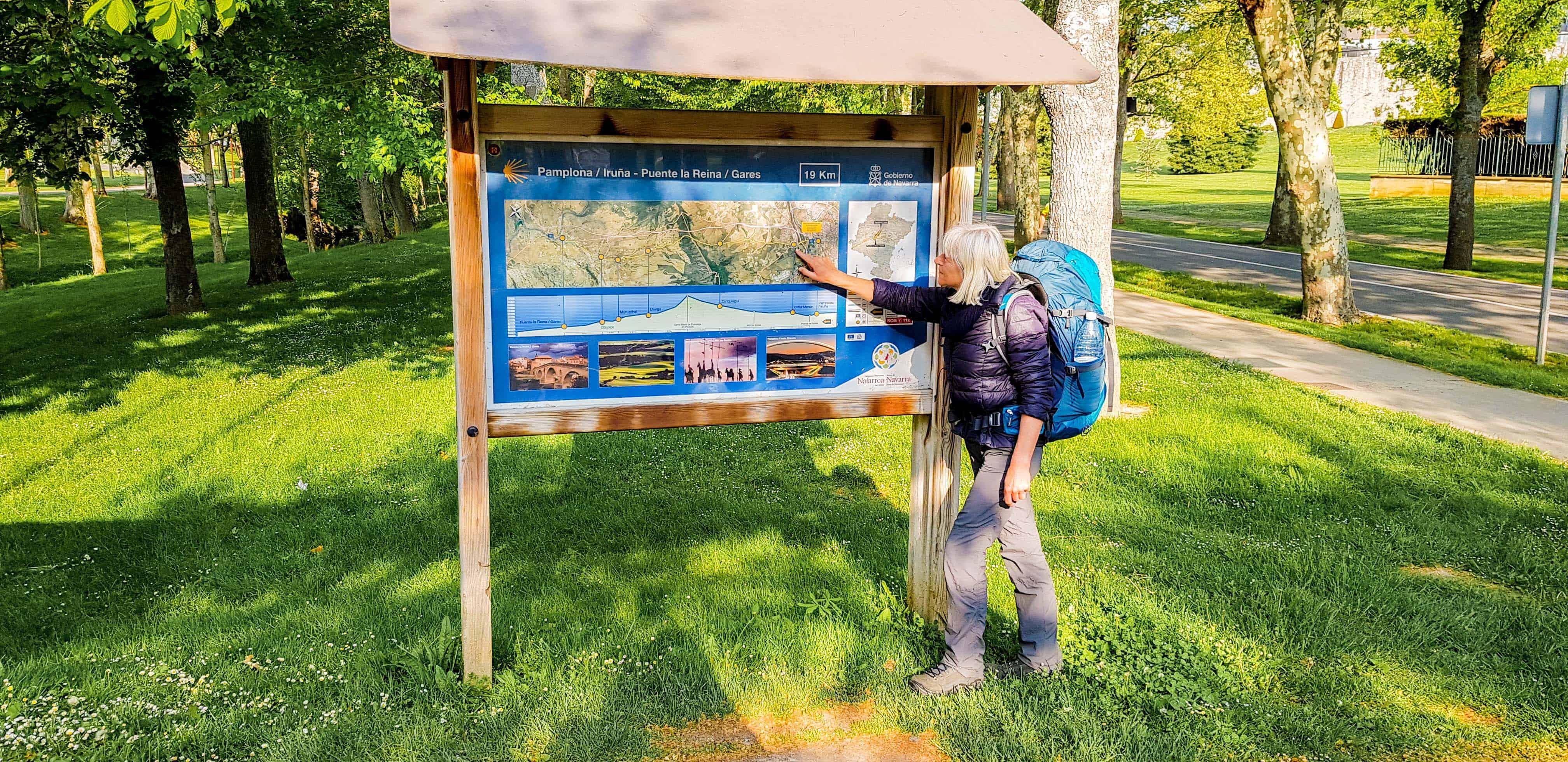 Pamplona naar Puenta la Reina - Camino Frances - Happy Hikers