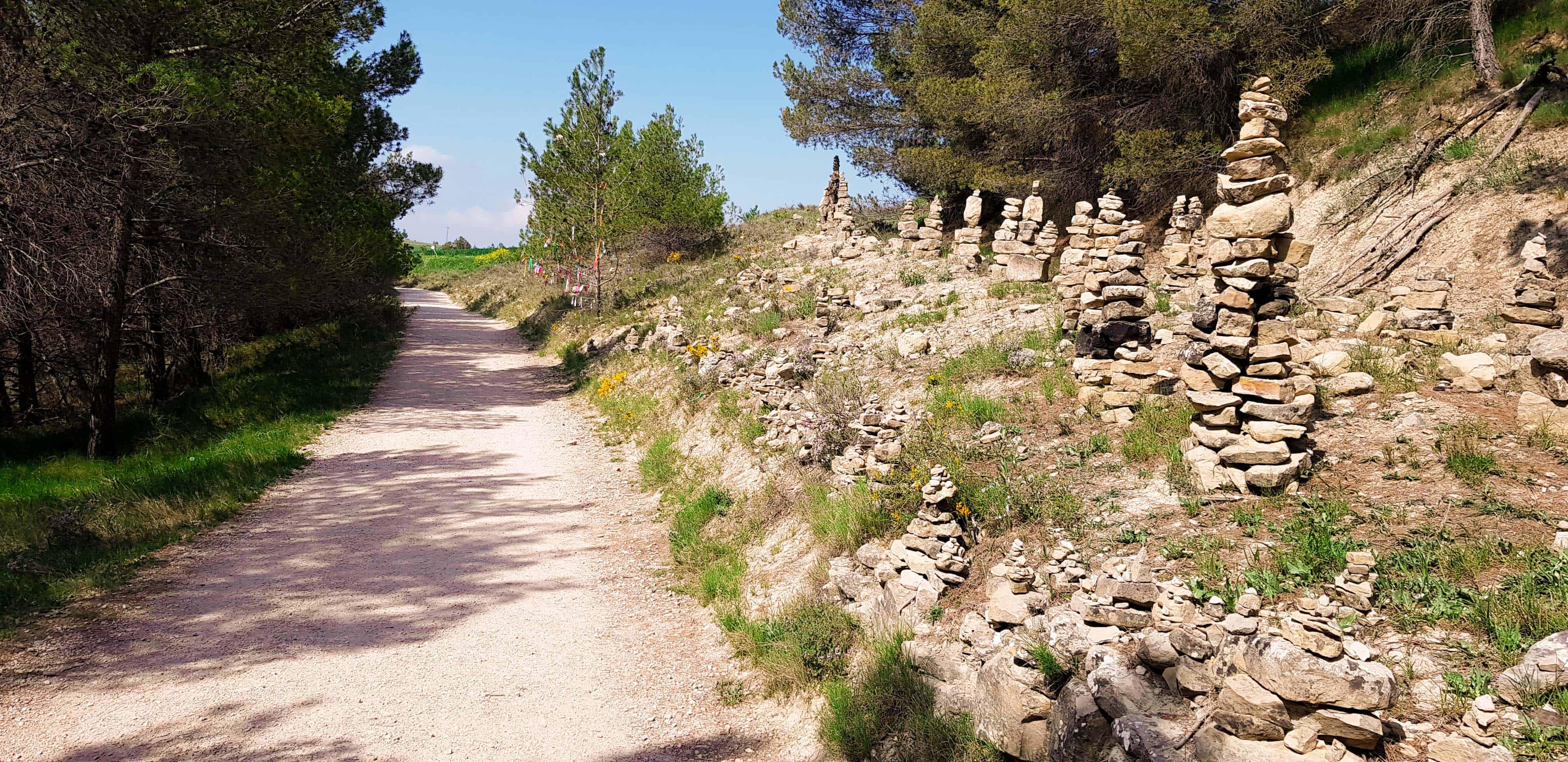 Mooie plekken onderweg - Camino Frances - HappyHikers