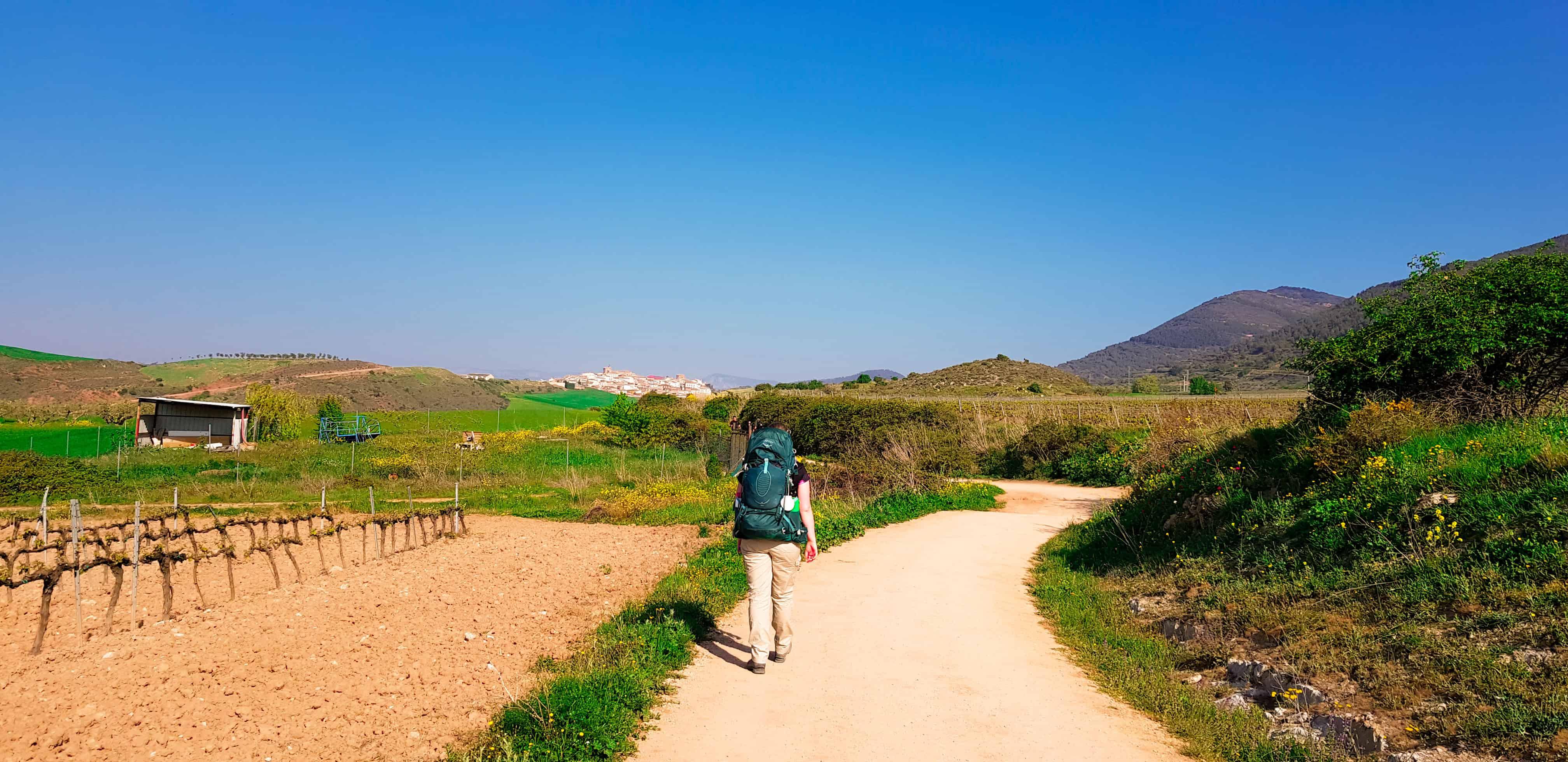 Puenta la Reina naar Villatuerta - Camino Frances - HappyHikers