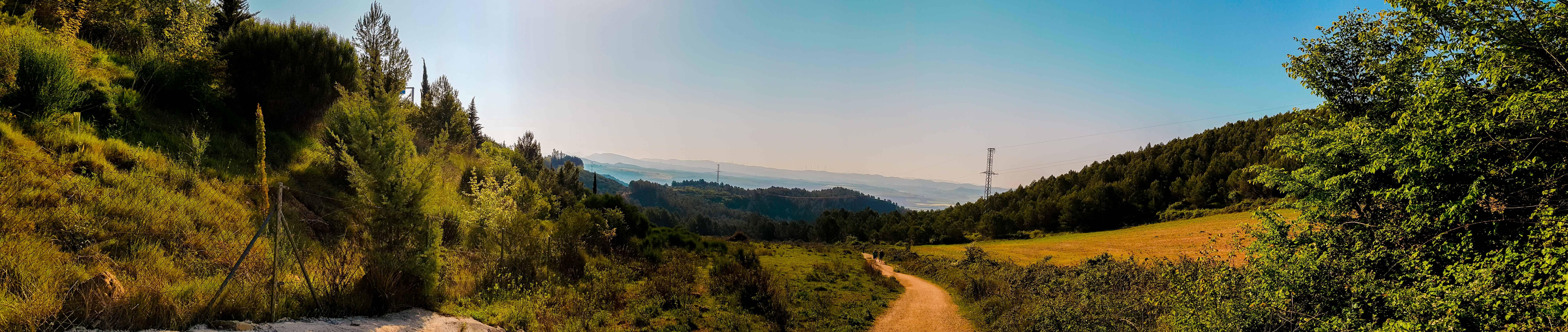 Uitzichten Camino Frances - HappyHikers
