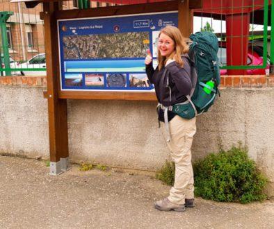 Route Viana - Logroño - Camino Frances - HappyHikers