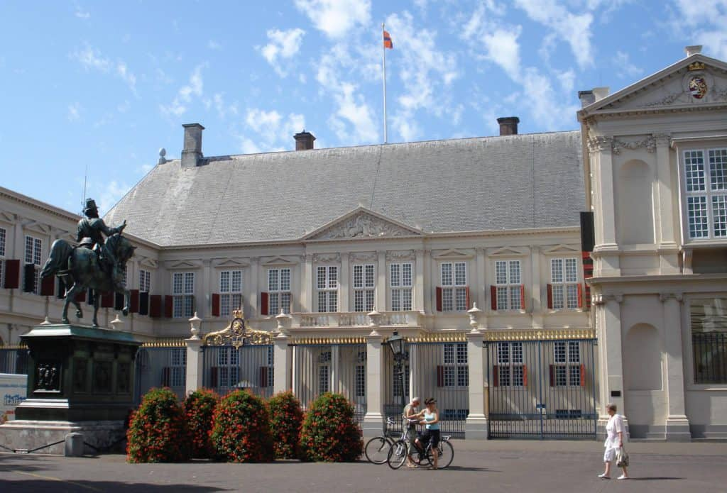 Stadswandeling Den Haag - Paleis Noordeinde