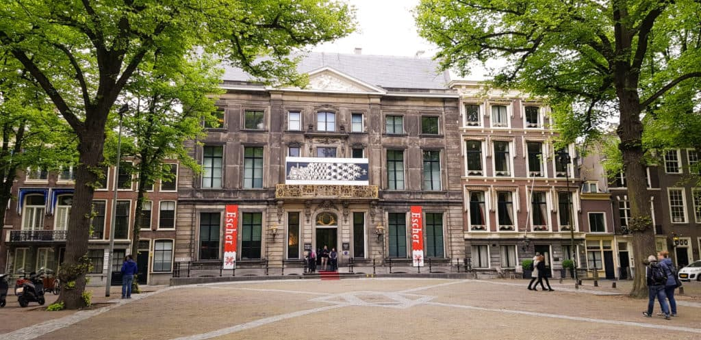Stadswandeling Den Haag - Eschermuseum