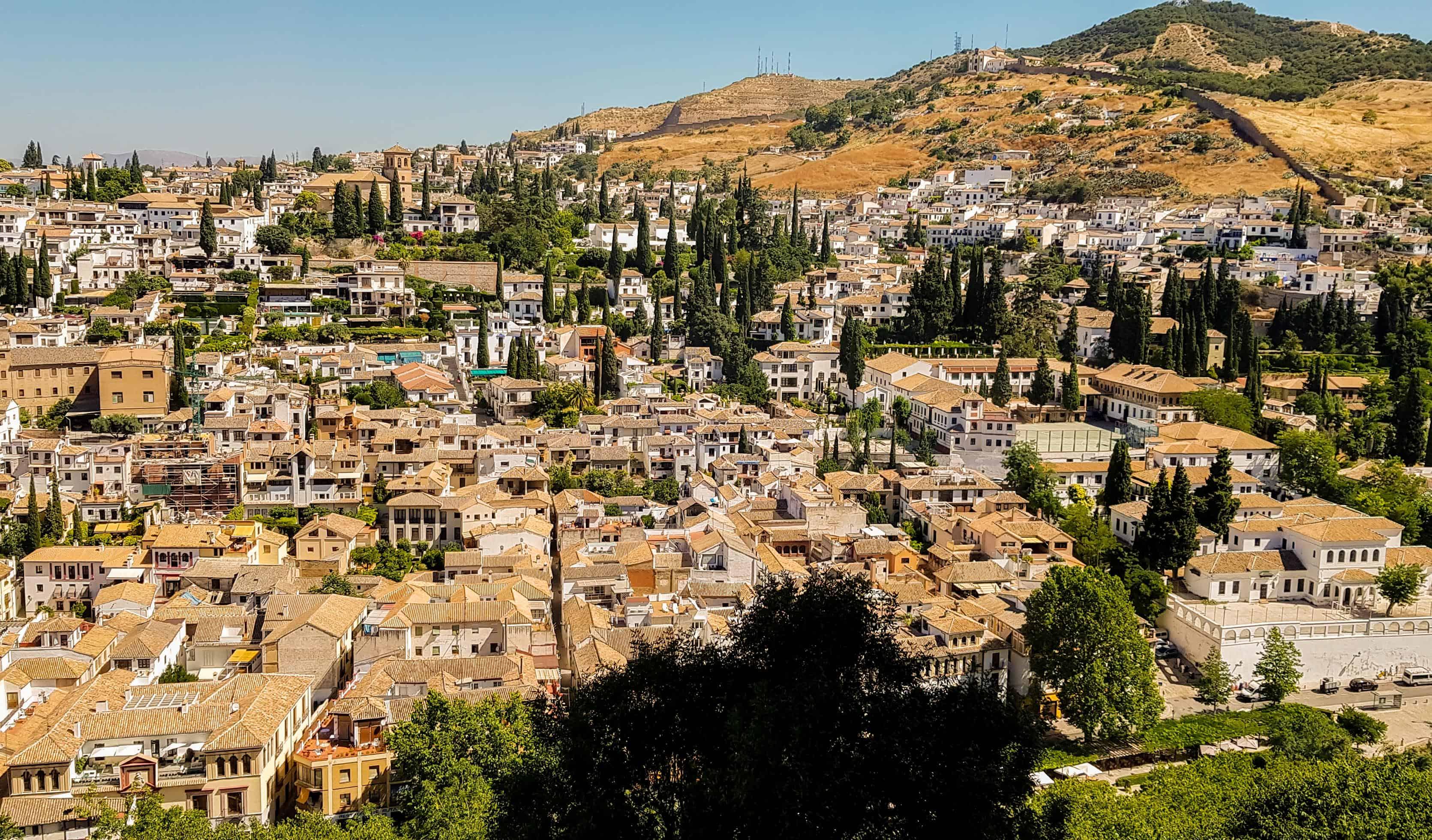 Daken van Granada - HappyHikers