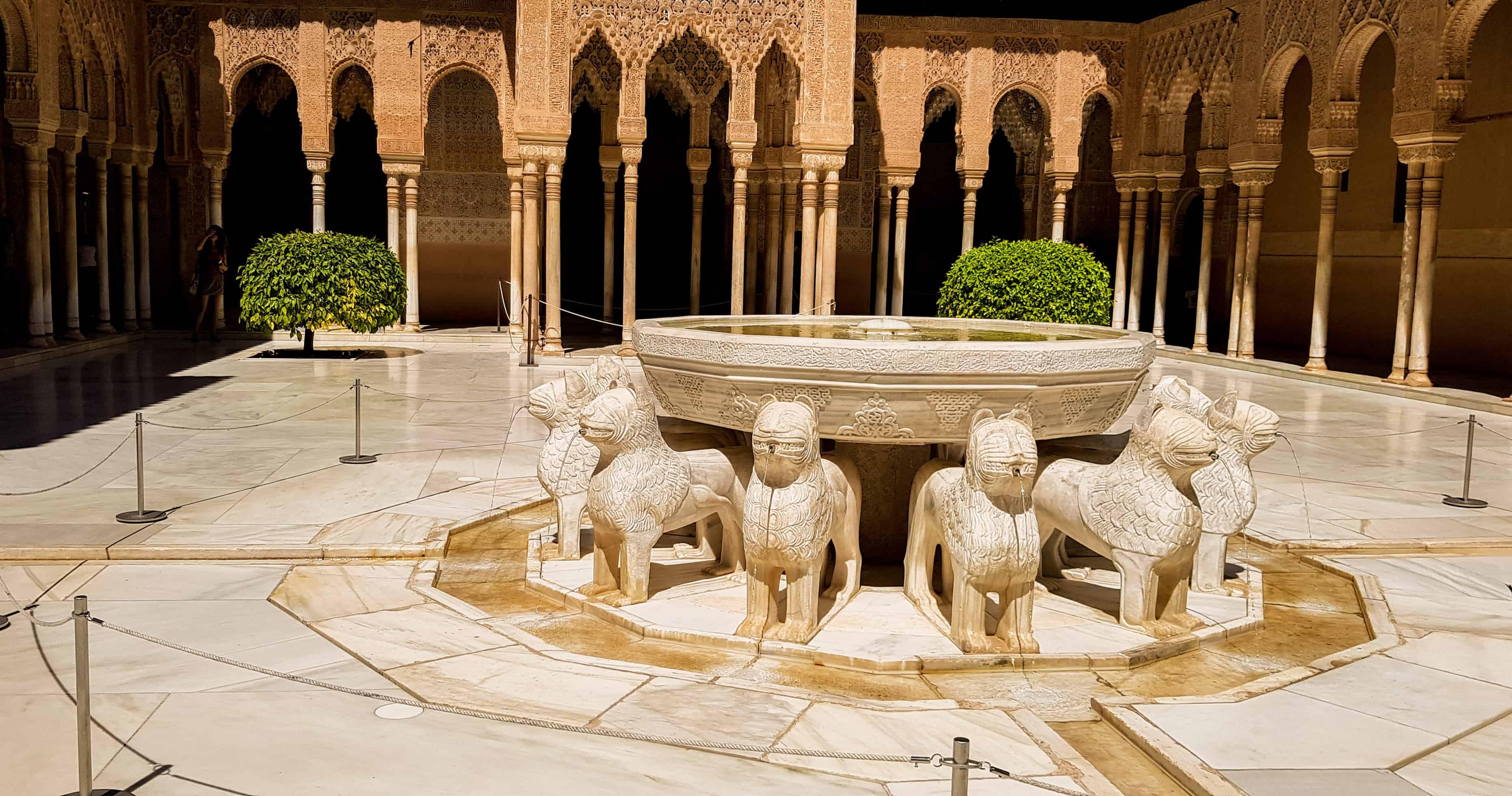 Fontijn Alhambra Granada - HappyHikers