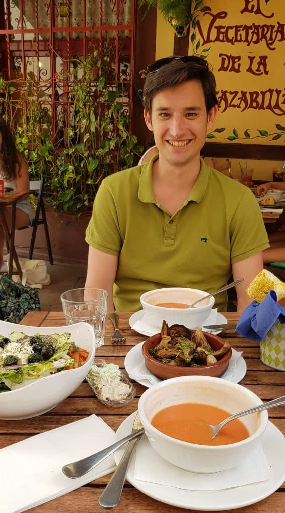 Vegetarisch restaurant Malaga - HappyHikers