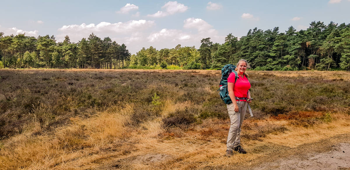 Saska in Noord Ginkel - Trekvogelpad - HappyHikers