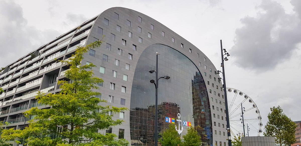 Markthal- Stadswandeling Rotterdam - HappyHikers