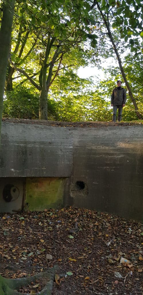 Bunkers in het Stadspark - HappyHikers