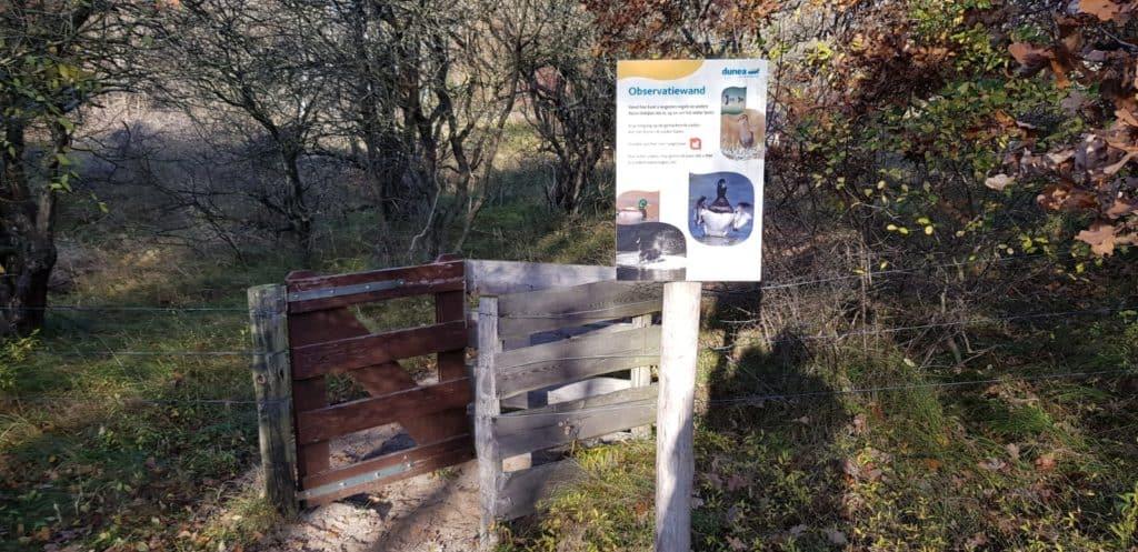 Vogelkijkwand - Eikenroute