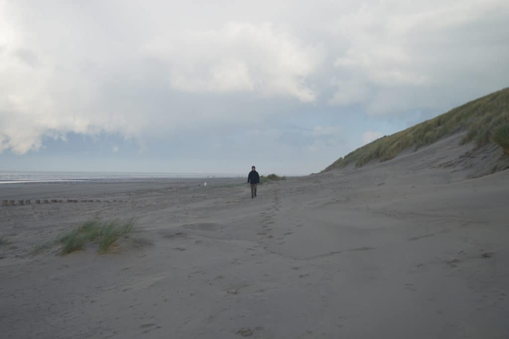 Over het strand 2 - Hollumerbos - HappyHikers