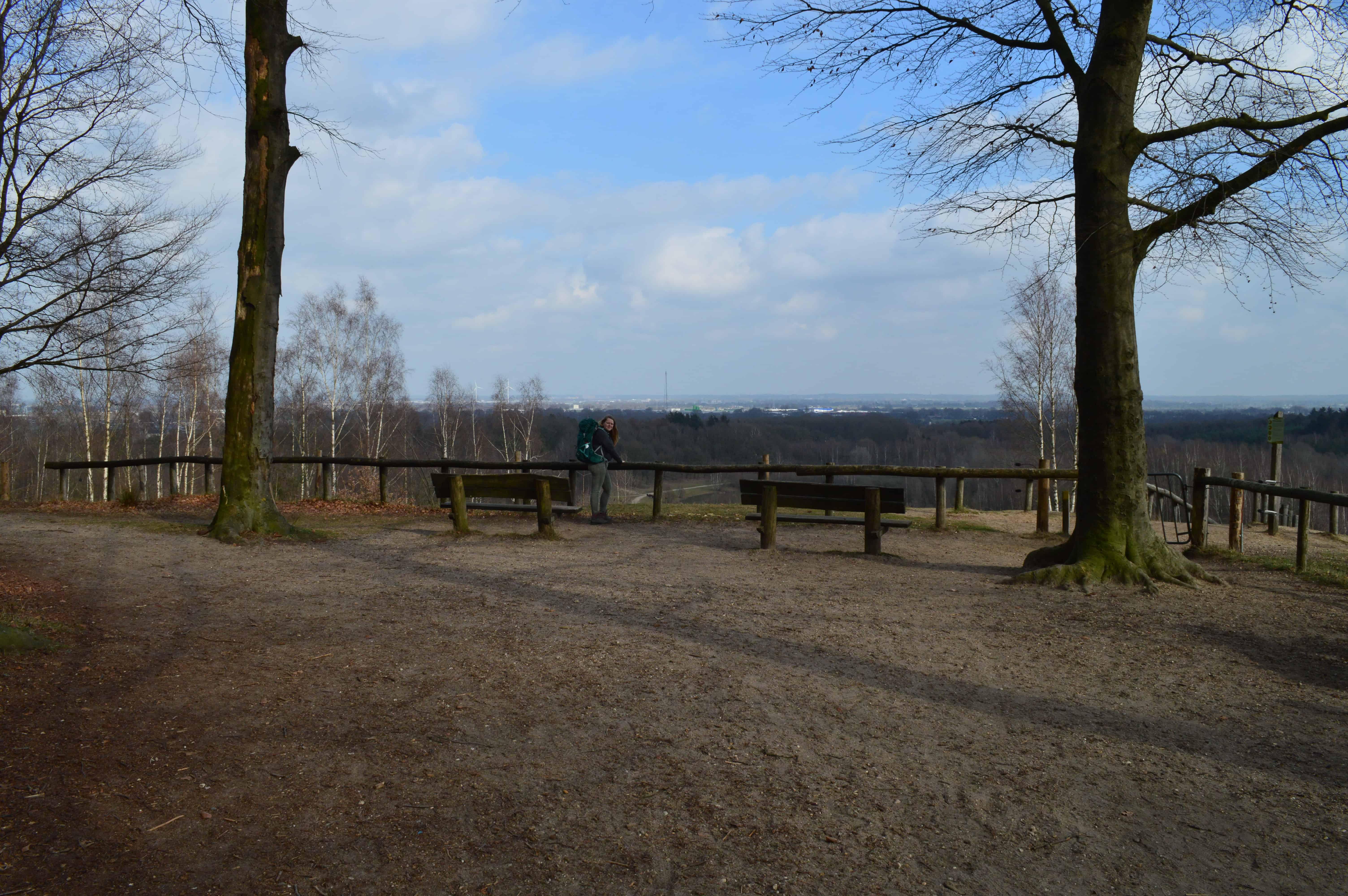 Mooi uitkijkpunt - Van Amerongen naar Rhenen - Trekvogelpad - HappyHikers