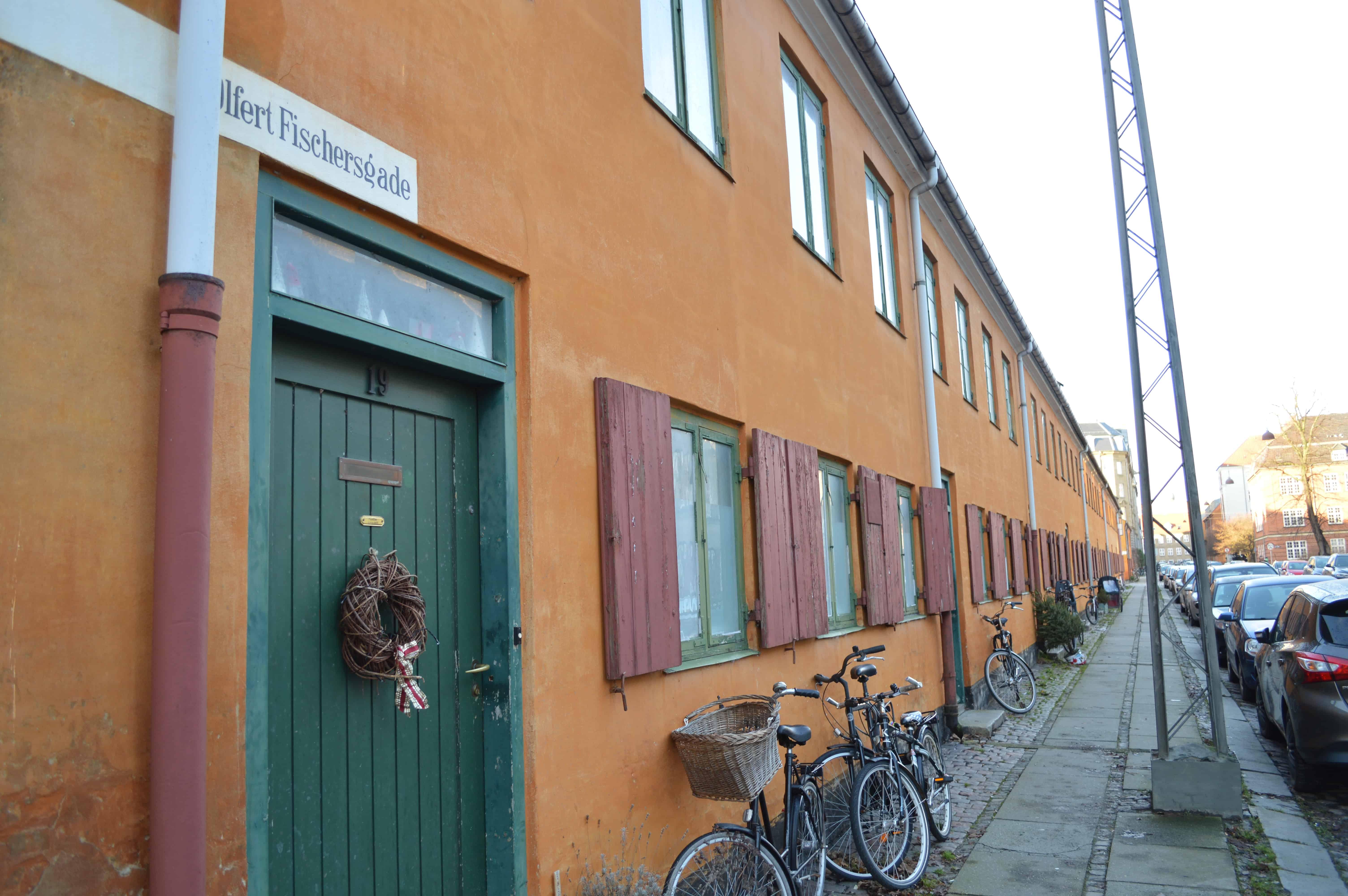 Mooie wijk Kopenhagen - HappyHikers