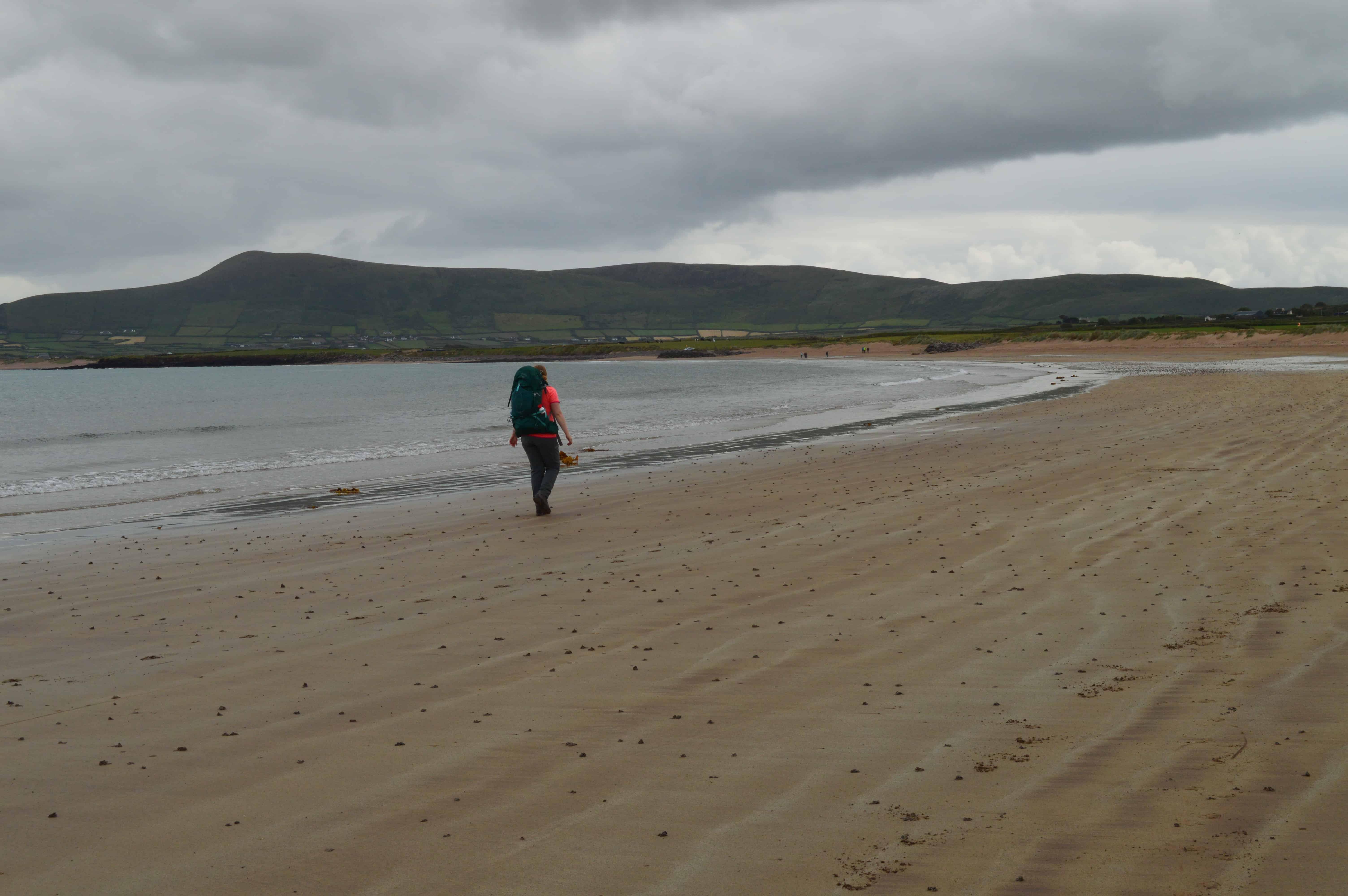 Alleen maar strand - De Dingleway - HappyHikers