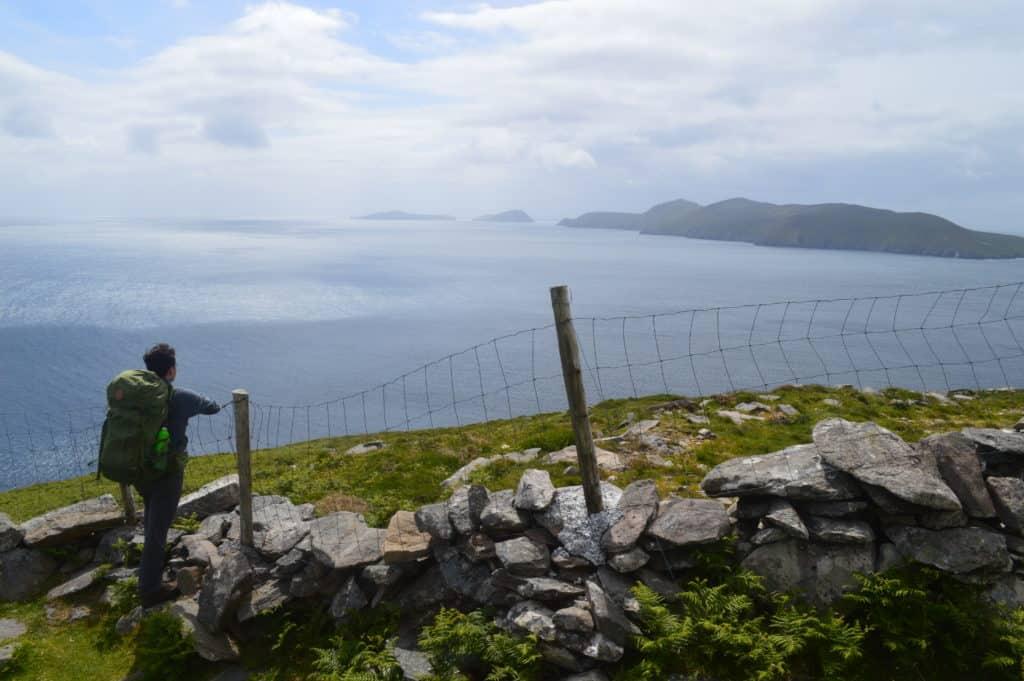 HappyHikers - uitzicht op de blasket eilanden