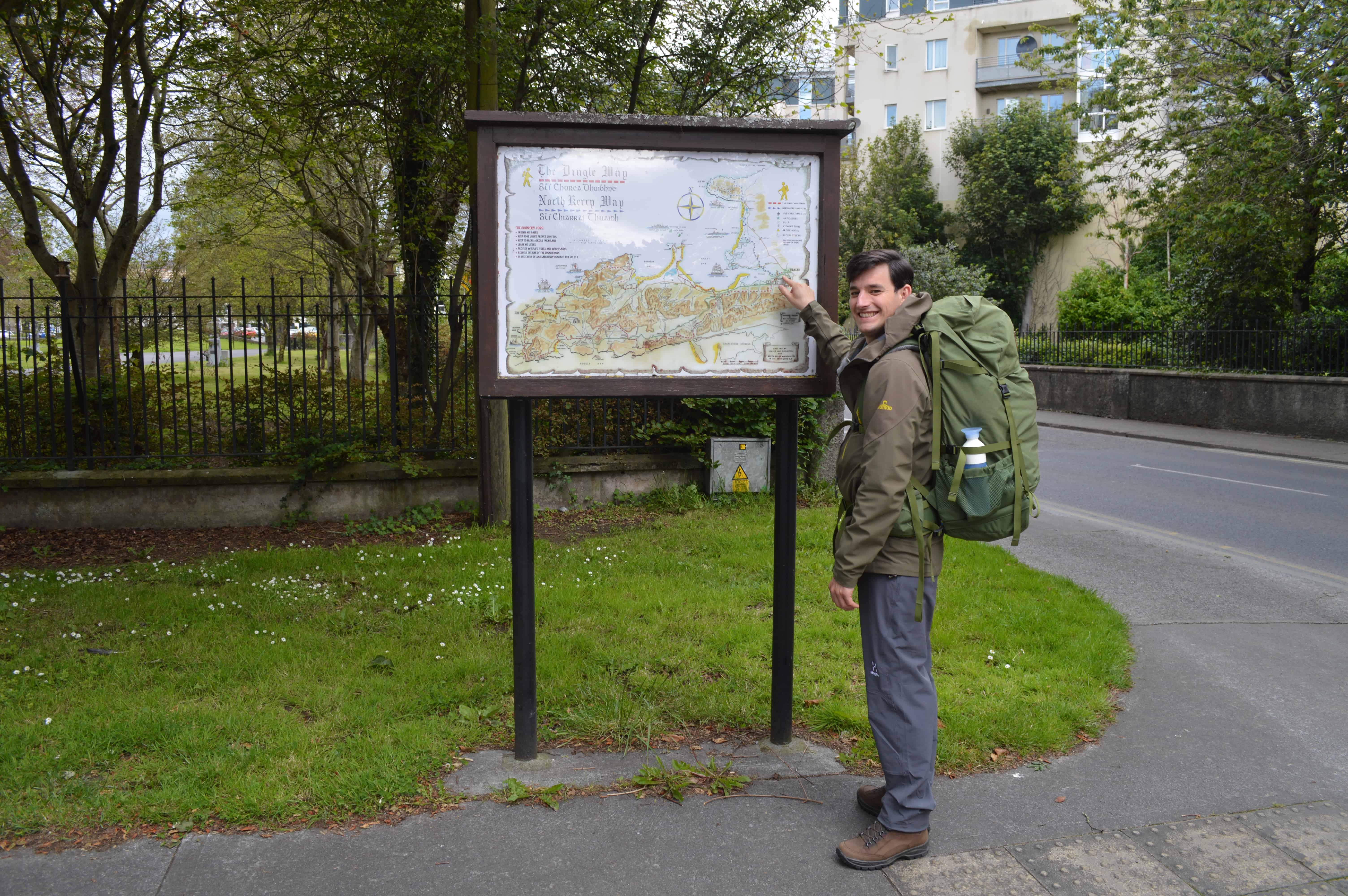 Startpunt Tralee - de Dingleway - HappyHikers