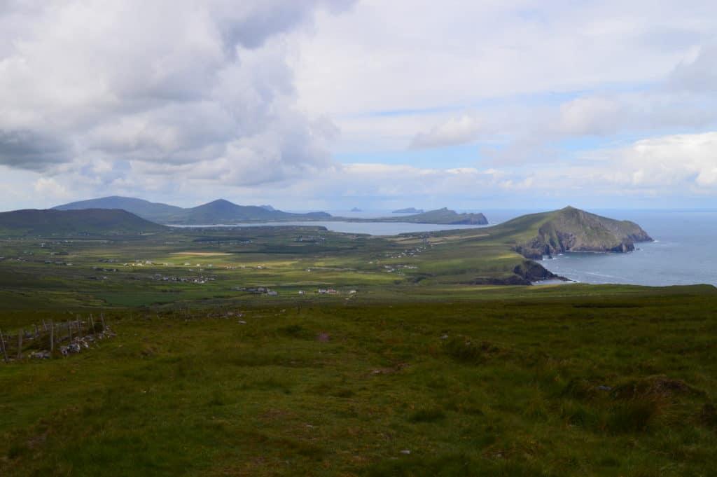 Uitzicht halverwege Mount Brandon - Dingleway - HappyHikers