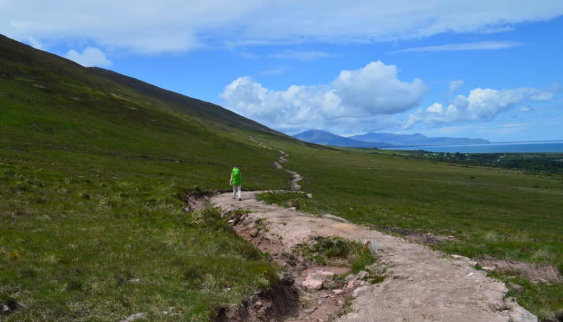 Van tralee naar Camp - de Dingleway - HappyHikers