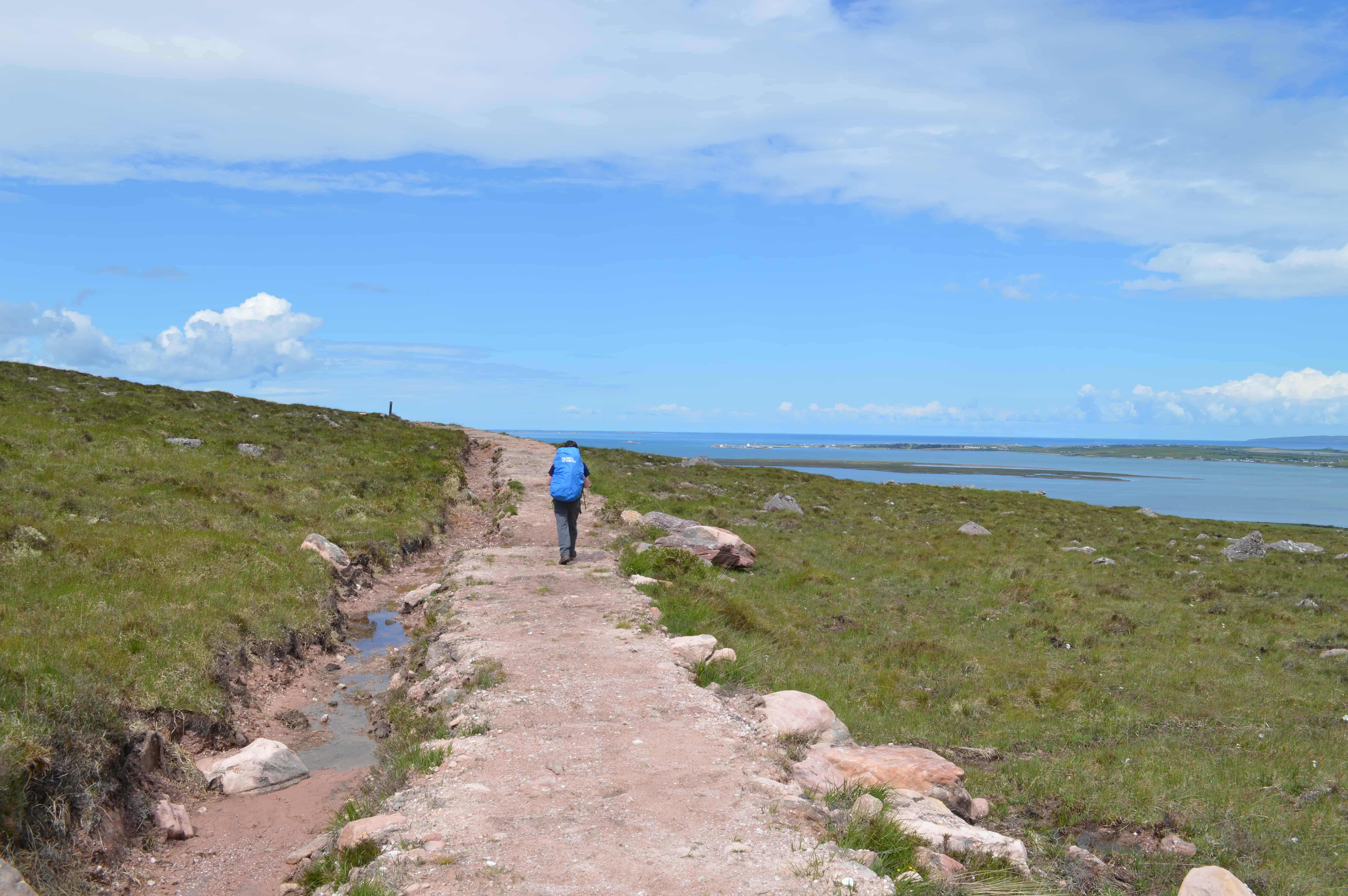Verlaten gebied wandelen - de Dingleway - HappyHikers