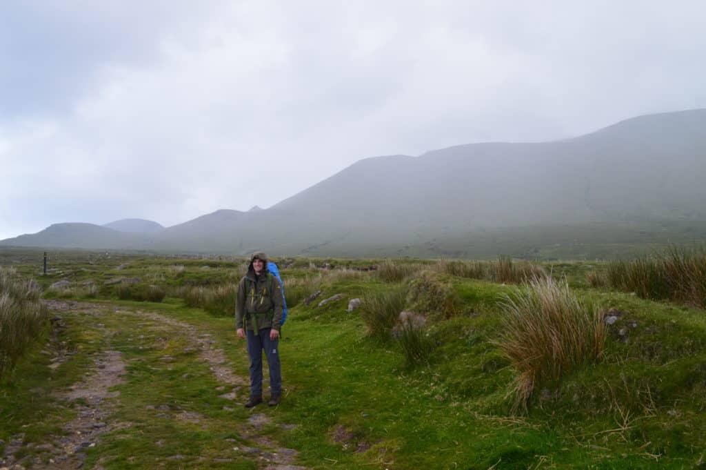 Wandelen in de regen - Dingleway - HappyHikers