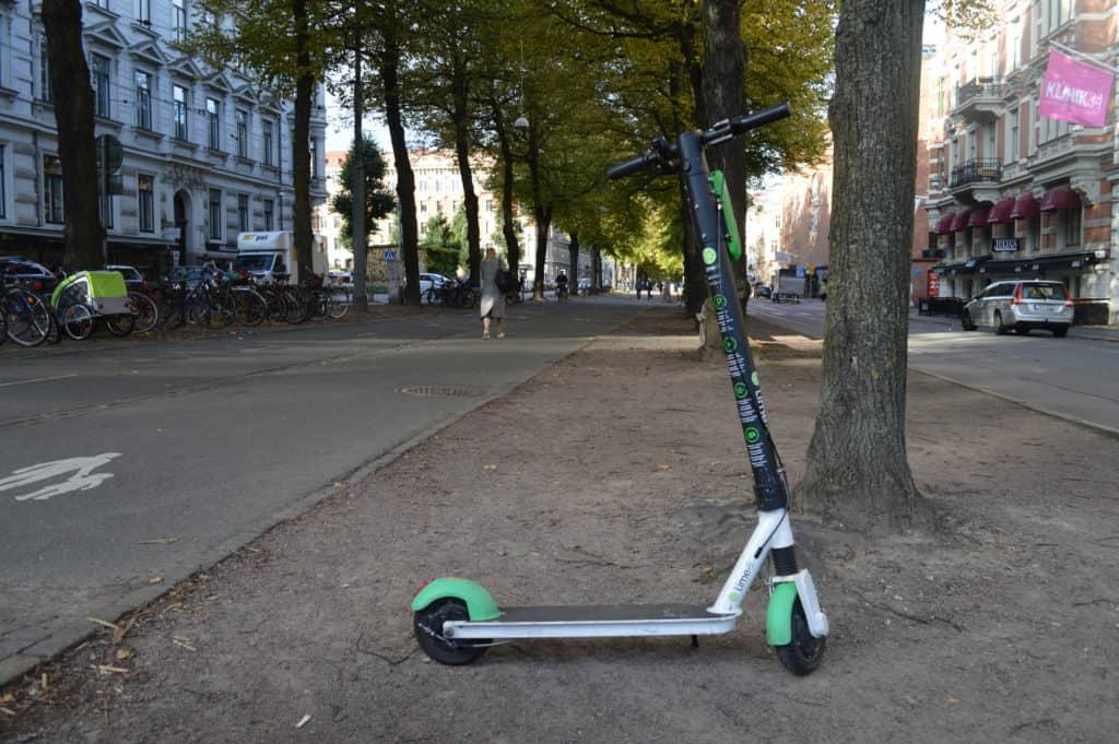 Elektrische step - Stadwandeling Göteborg - HappyHikers