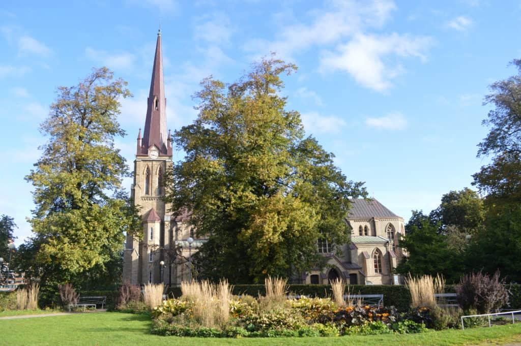 Gotische kerk - Stadwandeling Göteborg - HappyHikers