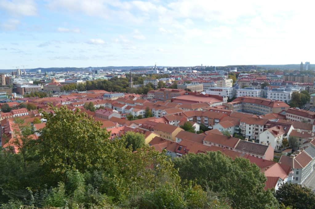 Uitzicht over de stad - Stadwandeling Göteborg - HappyHikers