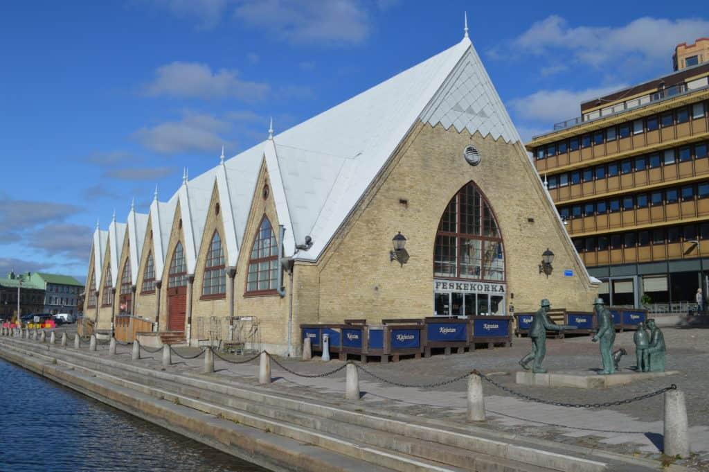 Feskakorka vanaf de andere kant - Stadwandeling Göteborg - HappyHikers