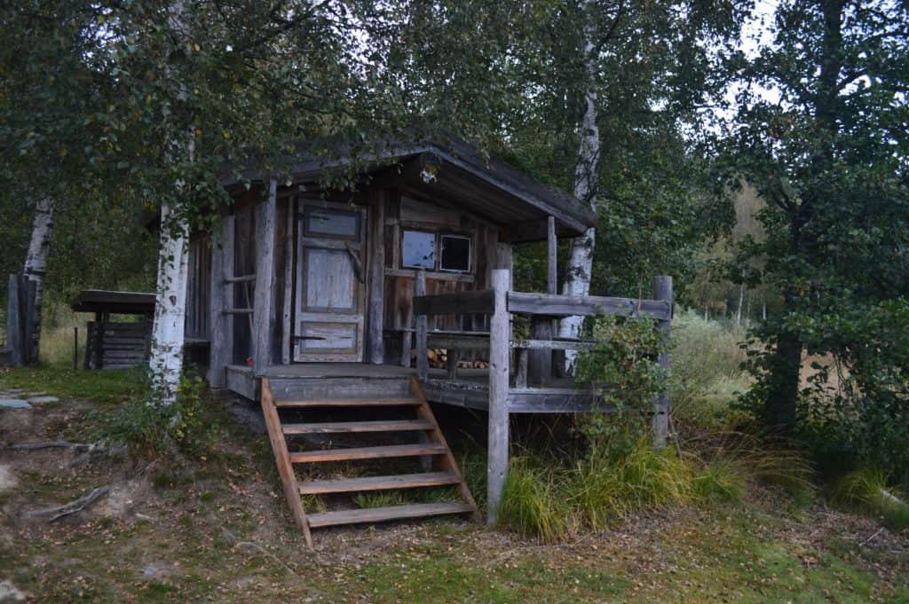 Hut in het bos - HappyHikers