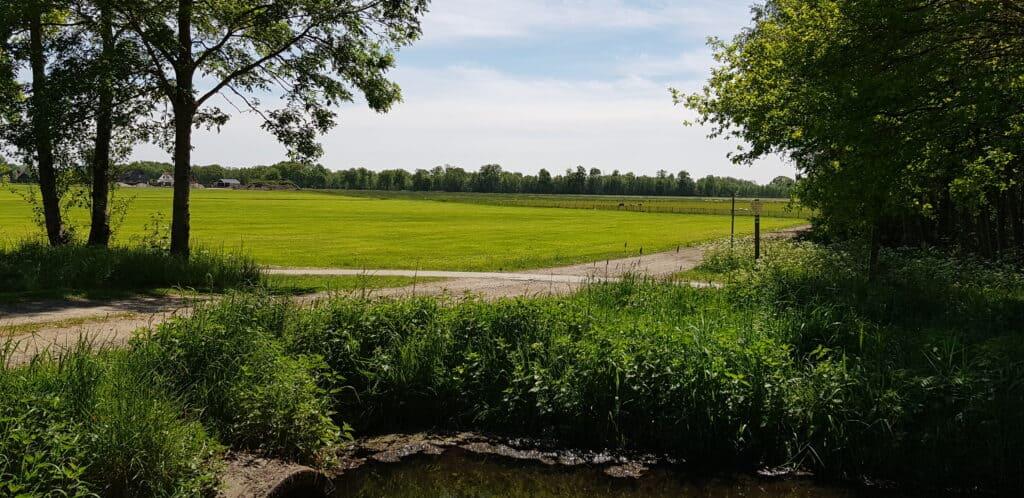 Uitzicht klarenbeekse pad - Klompenpaden - HappyHikers